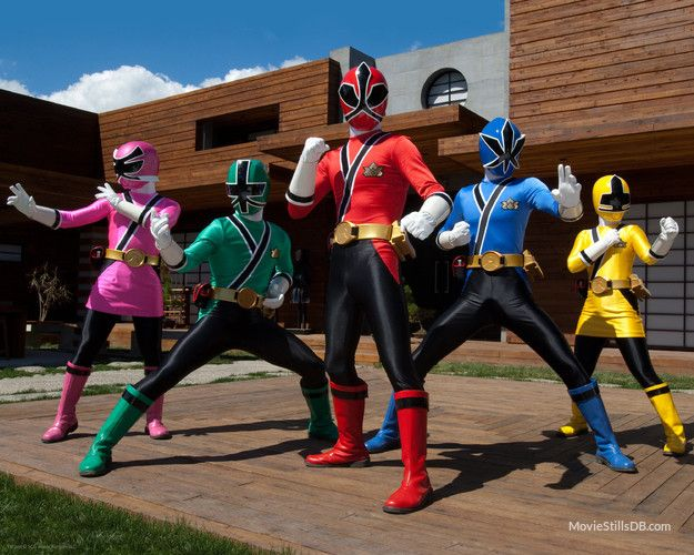 Power Rangers Samurai- just makes me miss the classic Power Rangers