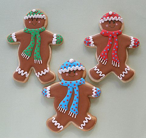 89 best gingerbread men decorated cookies and cake pops images on pinterest - Decorations for gingerbread man ...