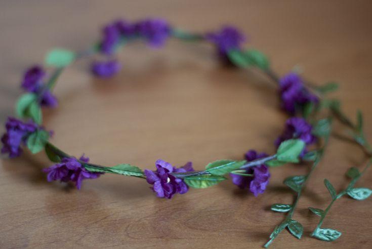 DIY: corona de flores