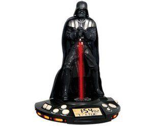 Avec le radio-réveil enfant IMC Toys Dark Vador votre enfant pourra se réveiller au son de la respiration de Dark Vador et à la lumière de son Sabre Laser.