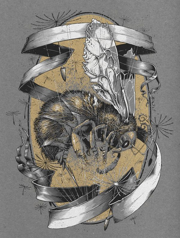 Harvest, Part 1 & 2 by Brian Luong, via Behance