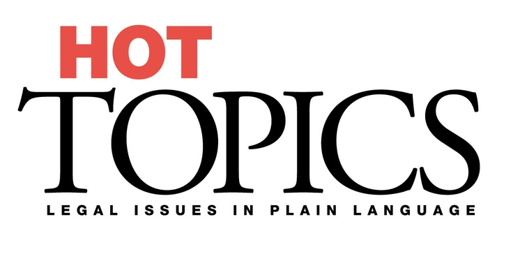 Hot Topics is a plain language series about recent changes and current debates in the law. Four issues are published each year, written by legal experts. All issues include case studies and sources of further information. Hot Topics is published by the Legal Information Access Centre (LIAC), State Library of NSW.