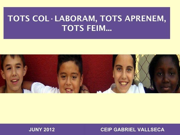 Aprenentatge Cooperatiu a Educació Infantil ceip-gabriel-vallseca-caac