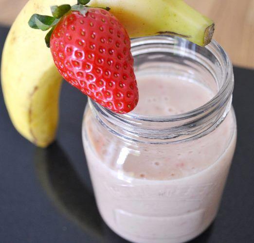 Strawberry & Banana smoothie