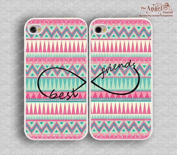 Best friends infinity iPhone cases! I want these for my little sister and I!