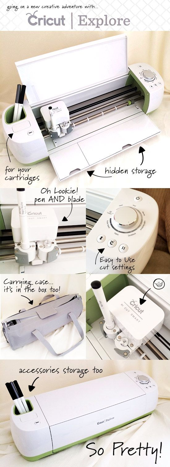 My newest obsession - The New Cricut Explore - My Favorite Features - come join me on this creative adventure - 100directions.com #explorecricut @Laurel Wypkema Provenzano Craft