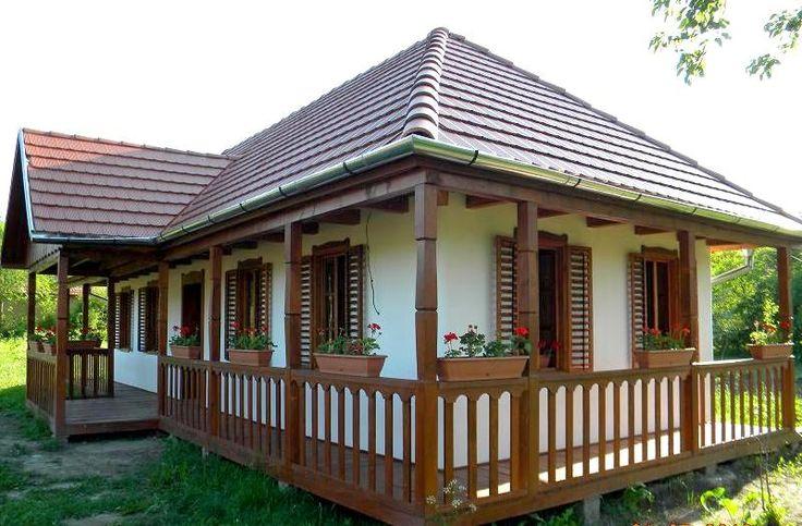 Casă traditională românească cu accente moderne