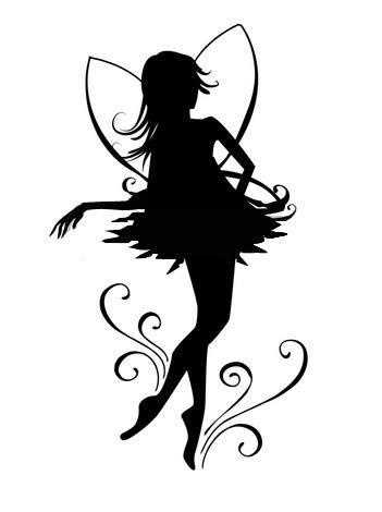 Fairy Silhouette 3