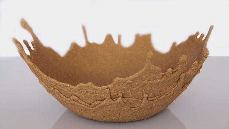 sand bowl Glue and sand: Sandbowl, Beaches, Leetal Rivlin, Crafts Ideas, Homemade Sands, Art, Things, Diy Sands Bowls, Mixed Sands