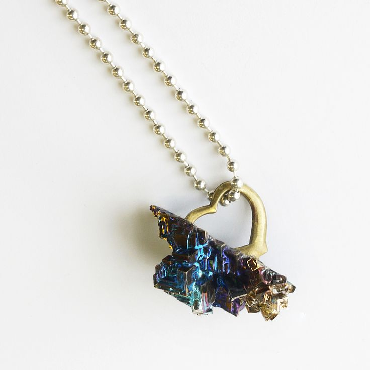 how to make bismuth crystal jewelry
