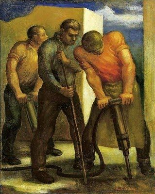 Eddie Richardson Oil Painting