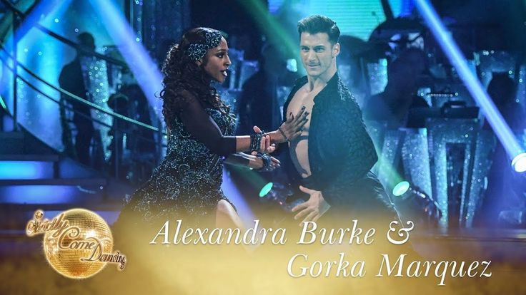 Alexandra Burke & Gorka Marquez Paso Doble to 'Ven a Bailar' - Strictly ...