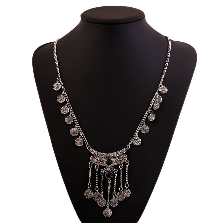 Gros Collier Femme 2016 Gypsy Ethnic Turkish Jewelry Choker Bohemian Vintage Tassel Coin Long Necklace Sweater Chain Collier-in Chain Necklaces from Jewelry & Accessories on Aliexpress.com | Alibaba Group