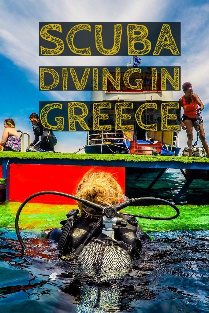 Scuba Diving in Rhodes and Discovering the Mediterranean Sea: