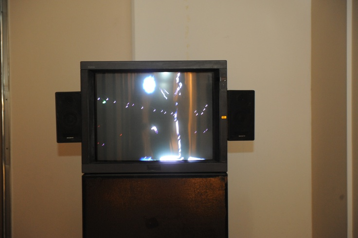 """Just Because Everything Is Different It Does Not Mean That Anything Has Changed: Lenny Bruce In Sydney, 2008  video, 60'  Courtesy: Galerie Michel Rein, Paris; Juana de Aizpuru, Madrid; Ellen de Bruijne Projects, Amsterdam  Installation view, 2nd Athens Biennale 2009 """"Heaven"""""""