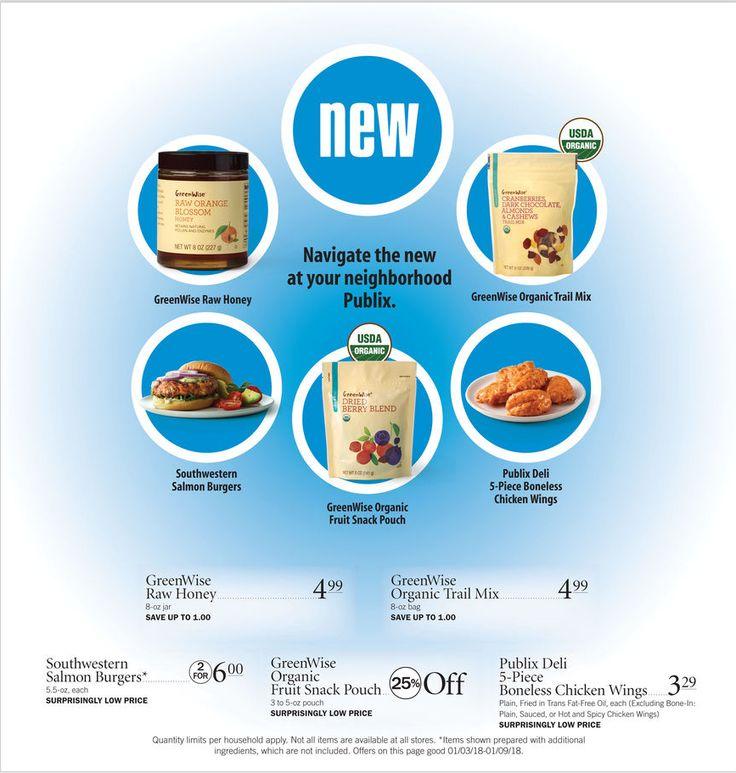 Publix New Item Sale January 3 - 9, 2018 - http://www.olcatalog.com/grocery/publix-sale.html