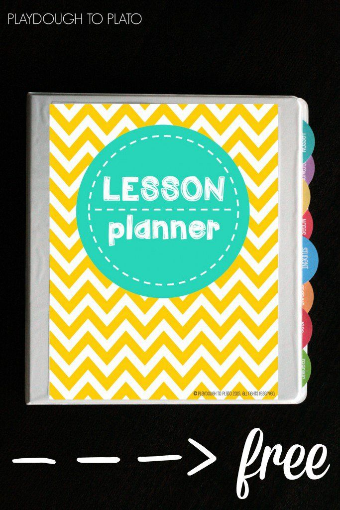 Free Lesson Plan Book and Tons of Organization Sheets! So helpful for back to school.