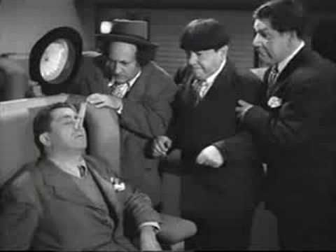 Curly's final appearance with The Three Stooges and the only Four Stooge performance on film.