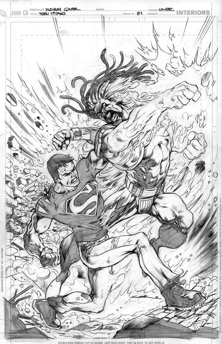 203 besten LineArt: Teen Titans Bilder auf Pinterest   Ausmalbilder ...