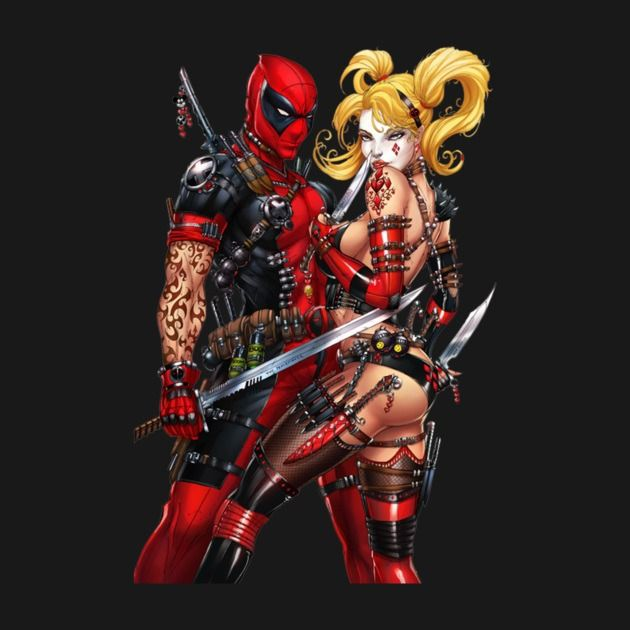 Deadpool And Harley Quinn 128 best images about ...