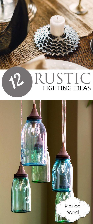 diy home lighting ideas. diy 12 rustic lighting ideas home design inspiration wall decor do it yourself diy g