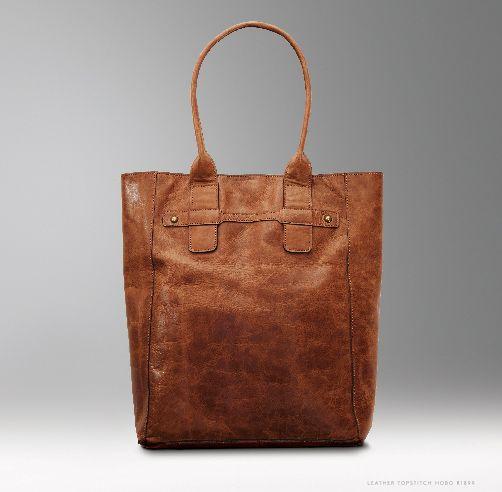 Ladies leather Tote