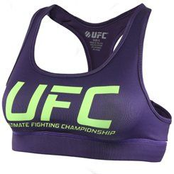 UFC Women's Sports Bra – Purple