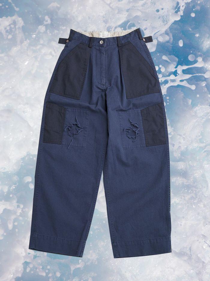 PONYTAIL SUPPLIES - W'menswear Navy Army Pants