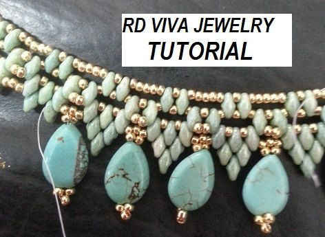 Tutorial San Francisco Necklace por RDVIVAJEWELRY en Etsy