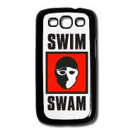 SwimSwam's Samsung Galaxy S3 case made from metal and plastic by Joto. Carry SwimSwam with you wherever you go- only available at the SwimSwam Swag Store! ($12.99)