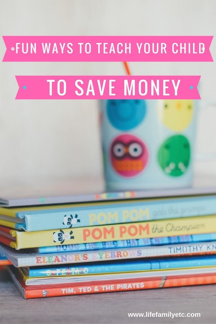 Set your child up for success by teaching them about money! Here are some fun ways to incorporate money and make learning about finances fun for all ages!