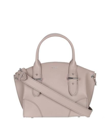 Notes Small Legend bag has a top curved zip, evolving into a wider body with crafted corners. Fea...