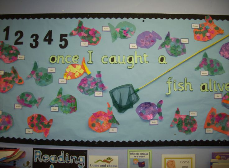 12345 Ounce I Caught a Fish Alive Classroom Display Photo - SparkleBox