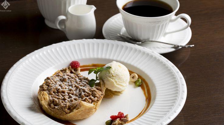 Café 1894の自家製アップルパイ #三菱一号館 #Cafe1894 #アップルパイ #CAFE #東京 #丸ノ内