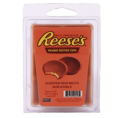 Mostly Memories 2-Ounce Reese'S Wax Melt by Mostly Memories. $10.20. Add them to a warmer for long-lasting fragrance. Perfect for any room or a great gift item. Made in the USA. Approx 2-ounce. Great home accent and home decor candle. Mostly Memories Reese's 2-ounce Wax Melt. Now you can scent your room with the delicious aroma of a REESE'S peanut butter cup. Simply break off portions of your favorite bar and add them to a warmer for long-lasting fragrance. Great stocking stu...