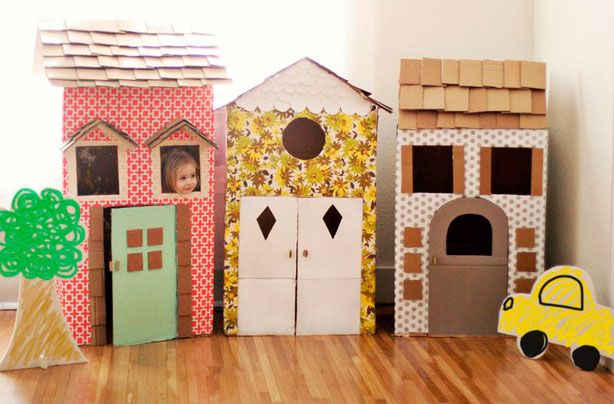 22 incredible kids toys you can make from cardboard boxes