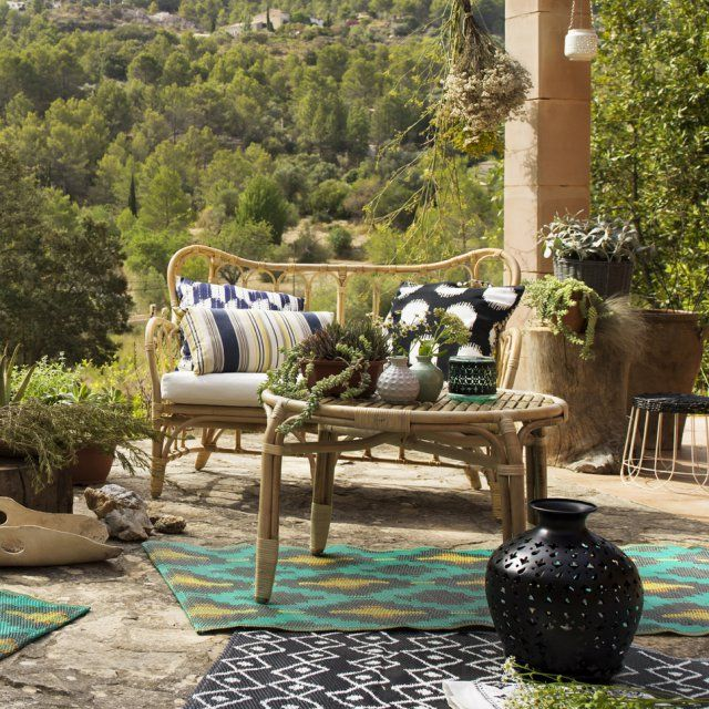 264 best images about tables tables basses et tables d for Deco bambou terrasse