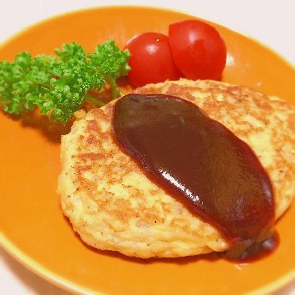 ♡肉なし豆腐ハンバーグ♡美味ソース♡