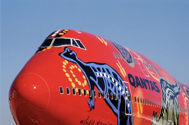 Boeing 747-400 de Qantas