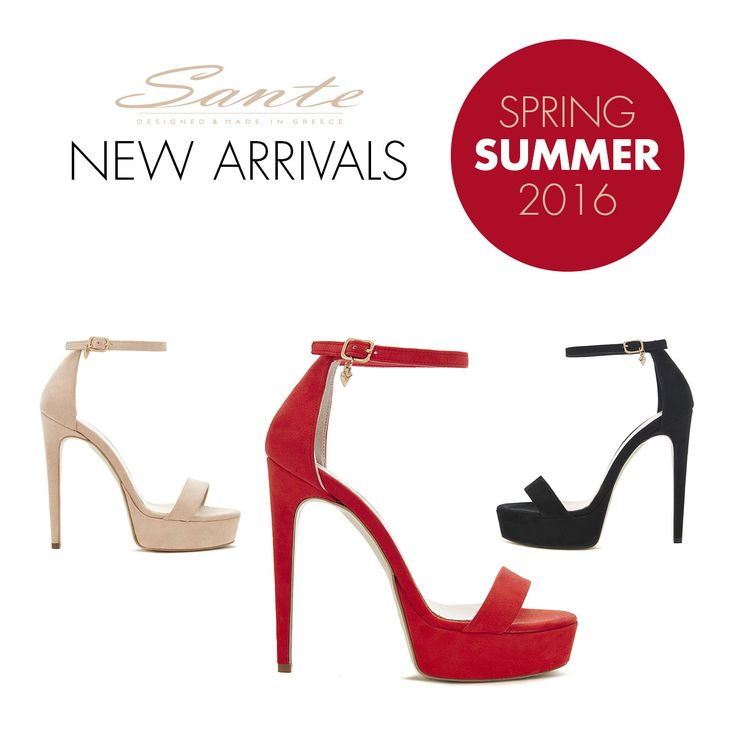 NEW In Sandals SANTE #SanteSS16 #SanteMadeinGreece (SKU-91751) Available in stores & online: www.santeshoes.com