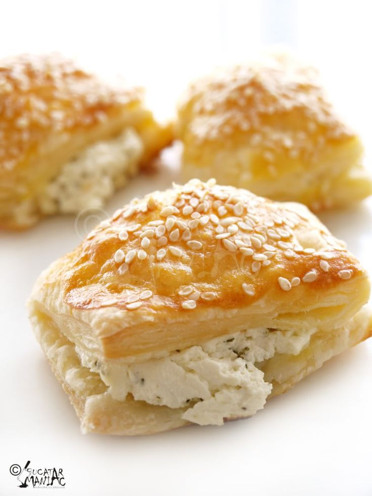 cheese & dill puff pastry