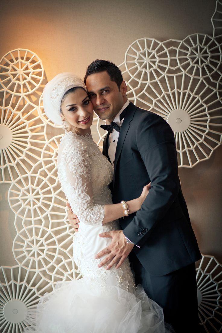 Bridal Headscarf Veil Inspiration, Hijab bride, modest bride