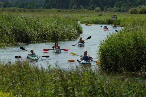 The Krutynia River: canoeing