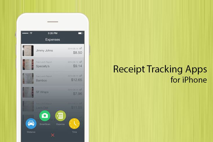Here are some of the best iPhone receipt tracking apps. These apps turn your iPhone into a personal account manager so you don't have to worry about expenses and missing receipts.
