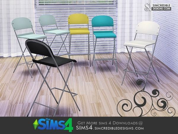 SIMcredible!'s Young Way Kitchen - stool