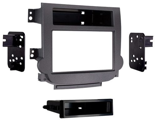Metra - Dash Kit for Select 2013-2015 Chevrolet Malibu with manual climate controls - Gray