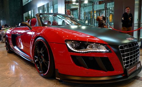 Love R8's, for the price a hard car to beat.