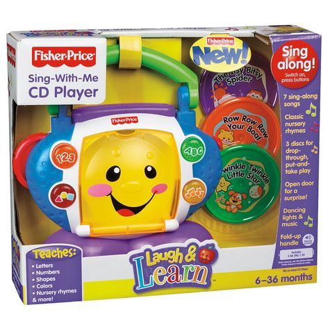 Fisher Price Laugh & Learn Sing with Me CD Player: Shopko