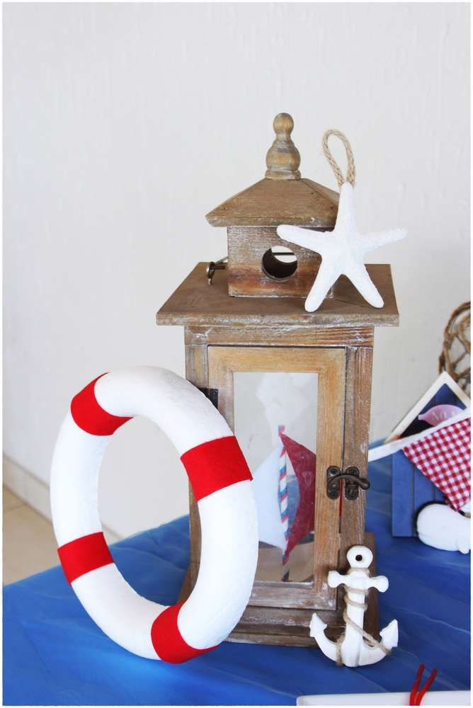 Nautical Baby Shower Party Ideas