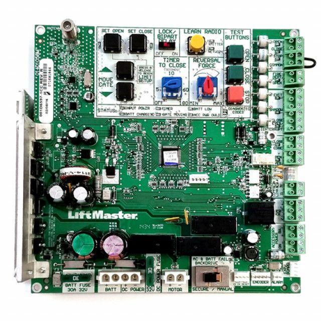 Liftmaster K1d6597 1cc Control Board For Csw24v Csl24v Liftmaster Control Gate Operators